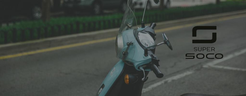 Super Soco commercialisée chez GC Moto Elec